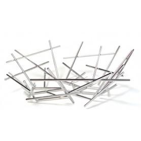 Stahl-Papierkorb Blow Up Alessi-FC02