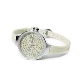 Orologio Cherìe Diamond Hoops bianco
