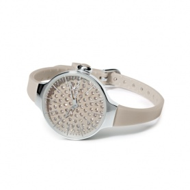 Cherìe Watch Diamond Hoops-grau