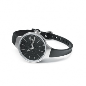 Cherìe Diamond Watch schwarz Hoops