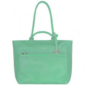 Shopping bag Piquadro orizzontale Verde - BD3305S75/V