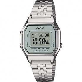 Orologio Casio vintage anni70 in acciaio - celeste