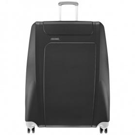 Piquadro große Odissey Trolley schwarz grau-BV2201OY/NG