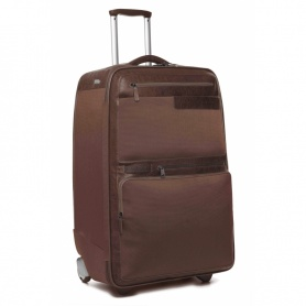 Trolley medium Piquadro Frame brown luxury - BV1497FR / M