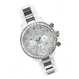 Watch Toy Watch white ceramic and steel - CHMC05WHS