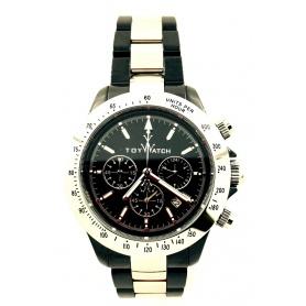 Orologio Toy Watch in ceramica nera ed acciaio - CHMC02BKSL