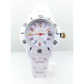 Orologio Toy Watch Monochrome piccolo bianco - FL59WHN