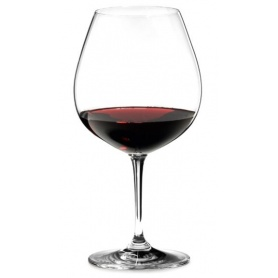 Crystal Red wine Glasses Riedel service-12pcs