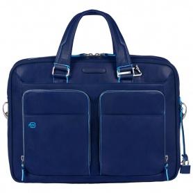 Borsa porta computer e iPad/iPad®Air a due manici linea Blue Square blu