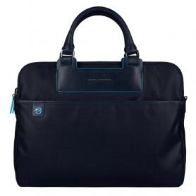Cartella porta PC e iPadmini liena Aki tessuto blu - CA3133AK/BLU
