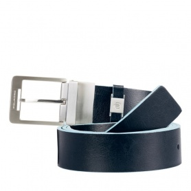 Men's belt Blue Square - CU3239B2/BLU2