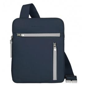 Piquadro pocket cross body bag blue - CA1358SO3/BLU