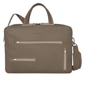 Piquadro Laptop Ordner auf Tortora-CA3315SO3-TO