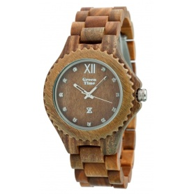 Watch Greentime by Zzero wood red sandalwood natural - ZW003A