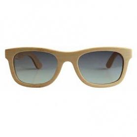 Unisex Sonnenbrille Green Time von Ahorn Holz Zzero