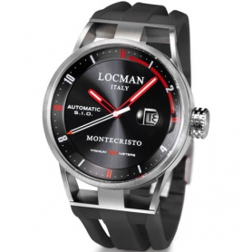 Locman Montecristo watch only time automatic