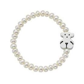 Bracciale perle Tous Bear Silver - 615904630