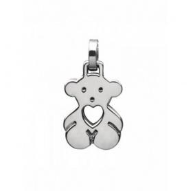 Ciondolo Tous Bear orsetto con cuore in argento