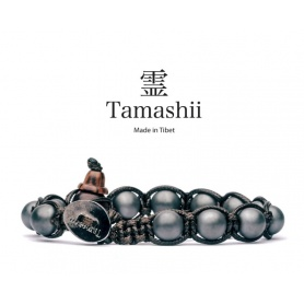 Bracciale Tamashii talismano Ematite Satinata