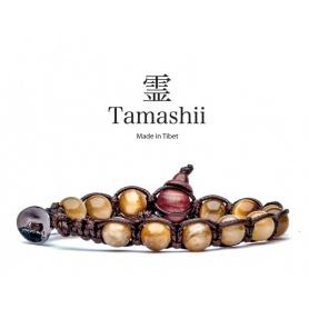 Bracciale Tamashii talismano Occhio di Tigre