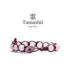 Bracciale Tamashii talismano Quarzo Rosa