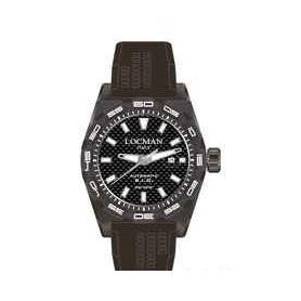 Locman Uhren Diver 300 automatische Stealth Carbon grau Fall