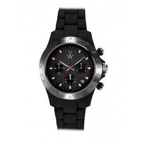 Orologio Toy Watch Velvety Chrono nero - VVCM01BK