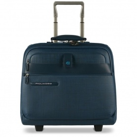 Wheeled briefcase with compartment Signo2 Avion- CA3408SI2/AV