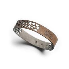 Bracelet Niente Paura Tatu His & Hers Leather brown