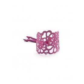 Niente Paura Tatù rubber bracelet purple