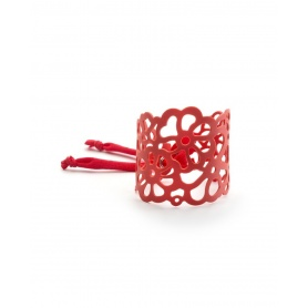 Don't worry Red Rubber Bracelet Armadillo