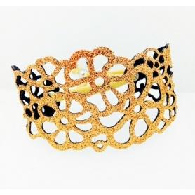 Keine Angst vor Tatù Armband in Rosa gold Gummi