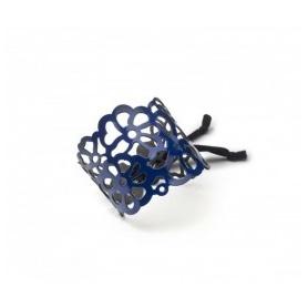 Keine Angst vor Tatù Armband in blau Gummi Blank