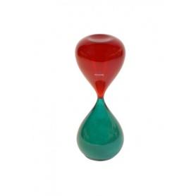 Venini Art Glass Clessidra colore Rosso/Verde - 420.05R