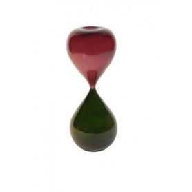 Venini Art Glass Clessidra grande Rosso/verdone - 01174