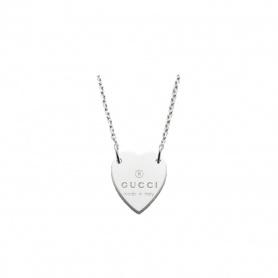 Collana Gucci cuore pendente argento - YBB22351200100U