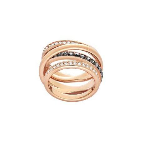 qualità affidabile lussureggiante nel design migliore vendita Anello Dynamic Swarovski fascia dorata rosè - 5143411