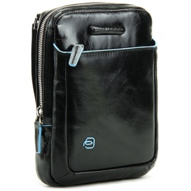 Piquadro borsello a tracolla  in pelle nera porta mini Ipad - CA3084B2/N