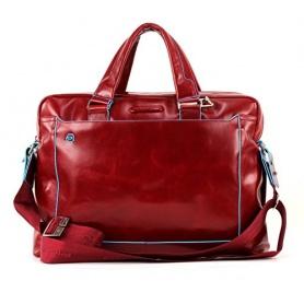 Piquadro cartella porta pc due manici pelle rosso - CA3335B2/GR2