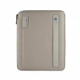 Piquadro portablocco sottile formato A4 con agenda grigio - PB2830P15/GR