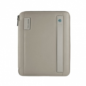 Piquadro Slim A4 notepad holder with gray diary - PB2830P15 / GR