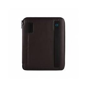 Piquadro portablocco sottile formato A4 con agenda marrone - PB2830P15/M