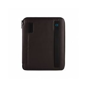 Piquadro Slim A4 notepad holder with brown diary - PB2830P15/ M