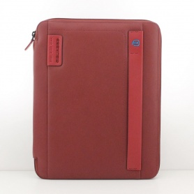 Piquadro Slim A4 notepad holder with calendar Red - PB2830P15 / R