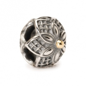 Beads Trollbeads silver and gold Strawberries - 41818