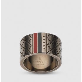 Anello uomo Gucci fascia grande - YBC295674001022