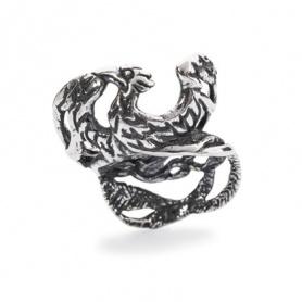 Phoenix Trollbeads beads silver - TAGBE-20117