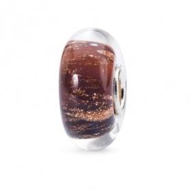 Kraftiger Sonnenuntergag Trollebeads beads glas - TGLBE-10265
