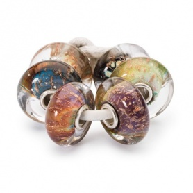 Balance of Nature set  glas beads Trollbeads -  TGLBE-00072