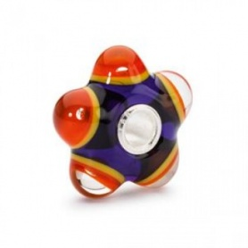 Flaming Meditation Trollbeads Glass - TGLBE-10275